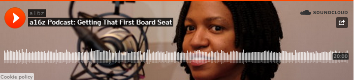 A16z Podcast: Getting That First Board Seat