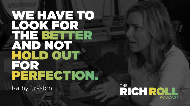 The Rich Roll Podcast – Kathy Freston is the Queen of Clean Protein
