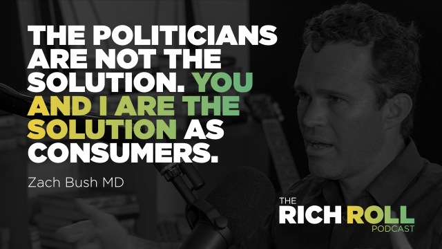The Rich Roll Podcast – Zach Bush, M.D. on GMO's, Glyphosate, and Healing the Gut