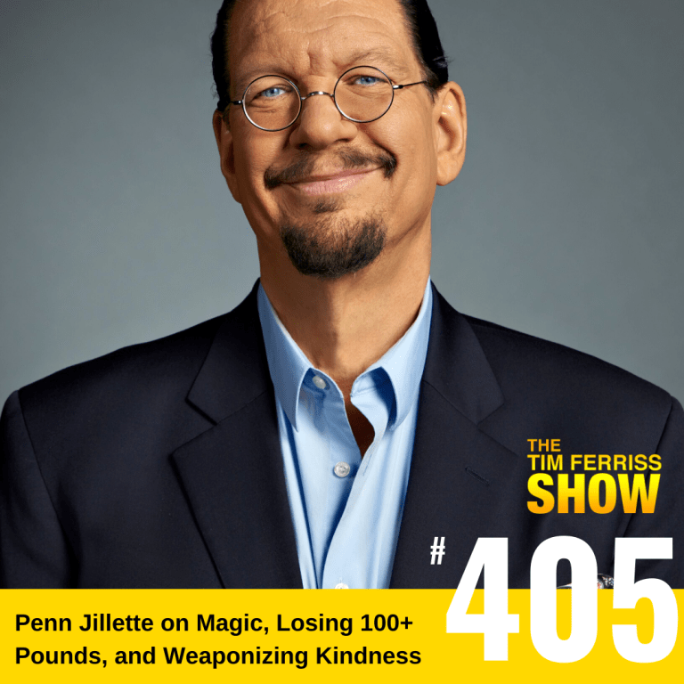 penn jillette time ferriss